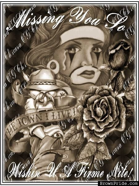 Gangster Love | Chicano art, Lowrider art, Chicano art tattoos
