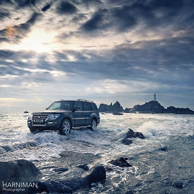No. 2 in the series of new press campaign images released this week - #Mitsubishi #Shogun #WelcomeToShogunTerritory #photography #locationphotography #carphotography #carphotographer #4x4 #offroad #harniman