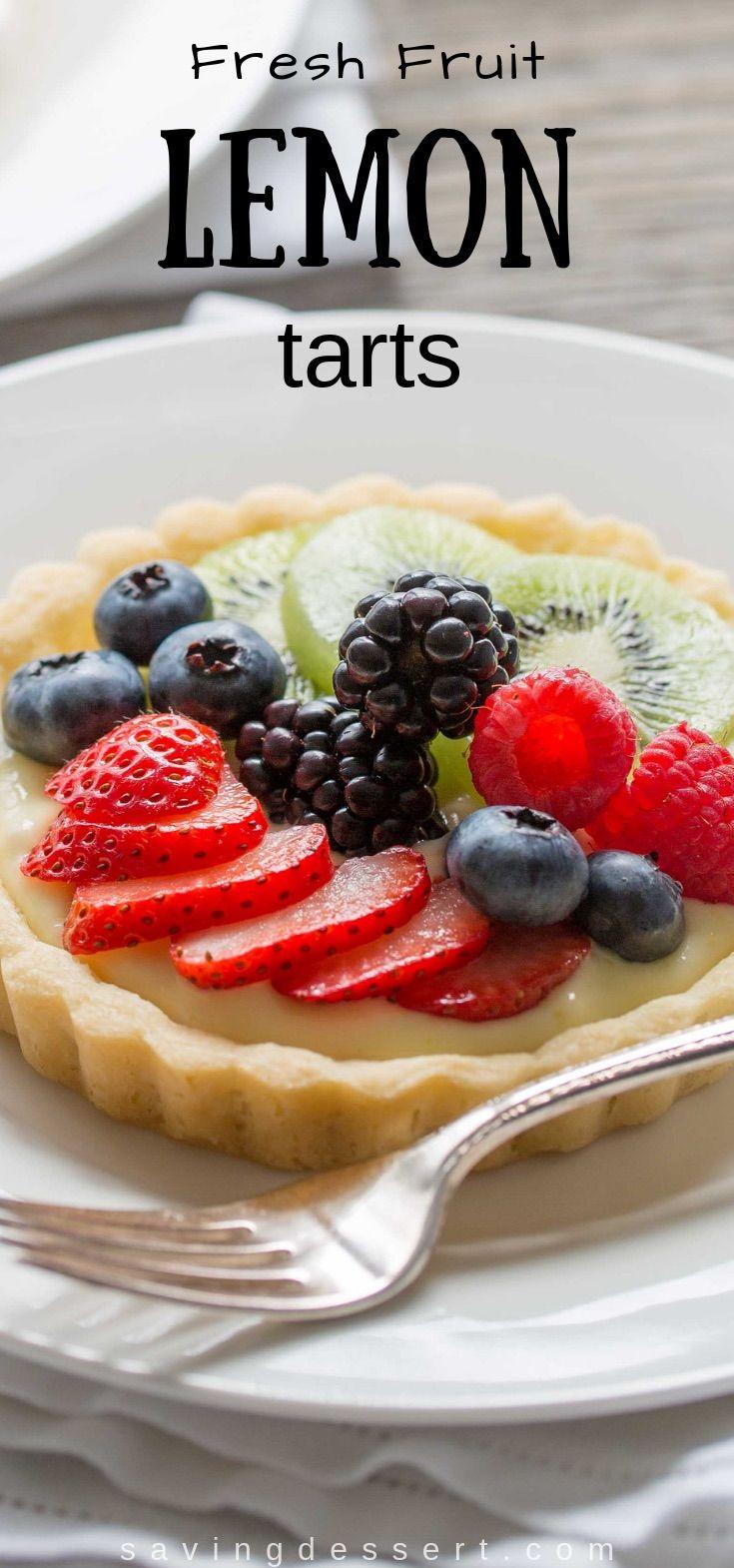 Fresh Fruit Tarts - Saving Room for Dessert