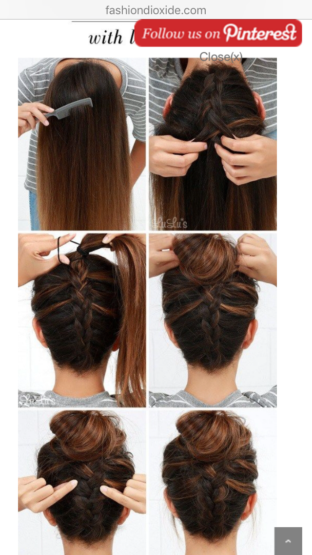 Pin By Katie Barnett On Hair Goals Easy Updos For Long Hair Long Hair Styles Braids For Long Hair