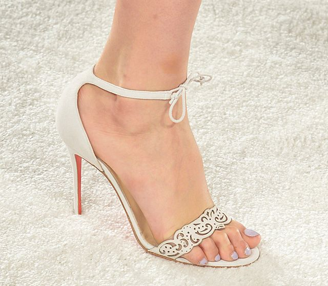 Christian Louboutin for Marchesa Spring 2014