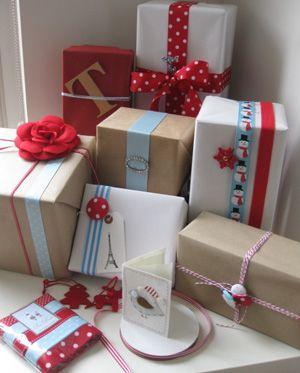 mil y una ideas para envolver regalos