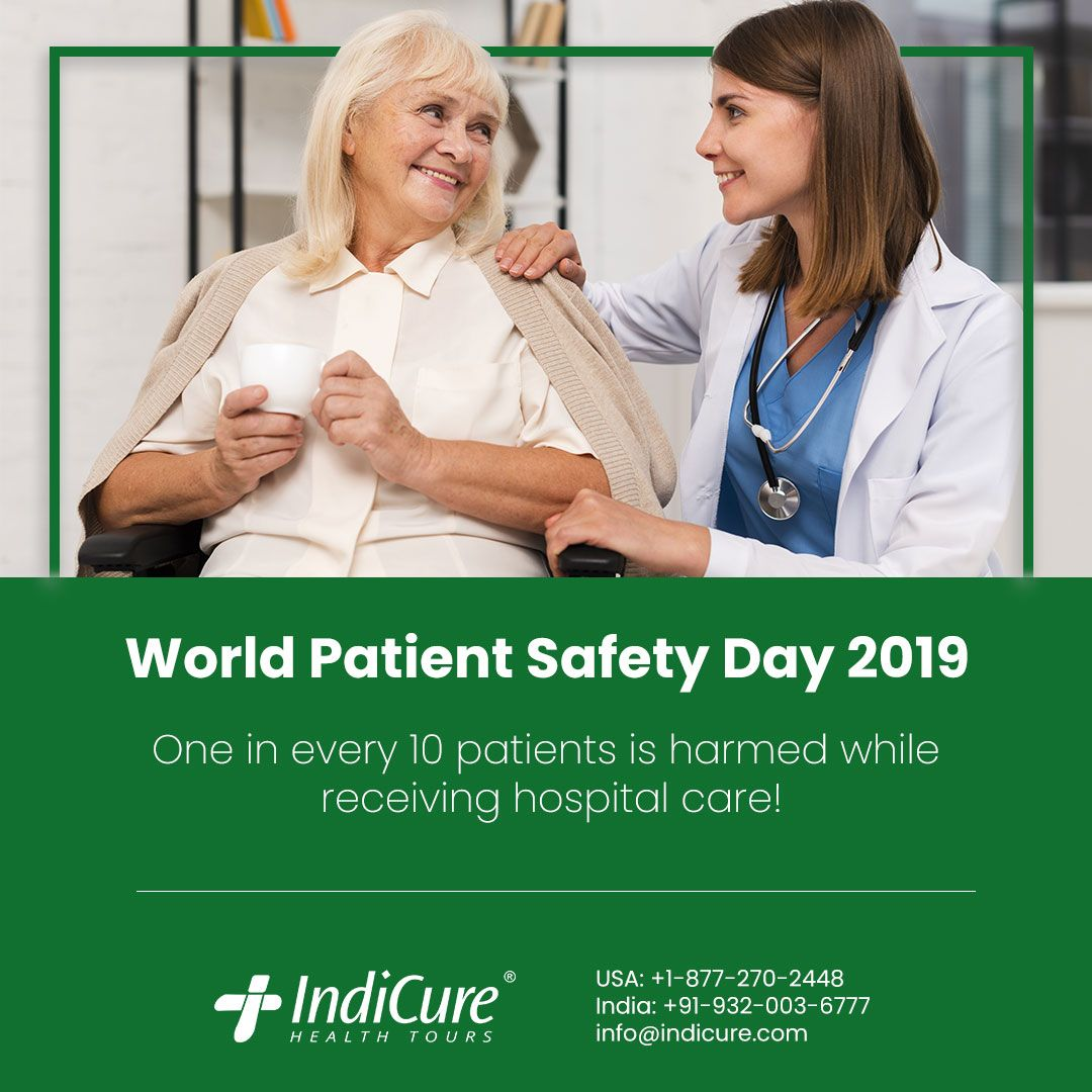 On World Patient Safety Day, WHO has launched a global