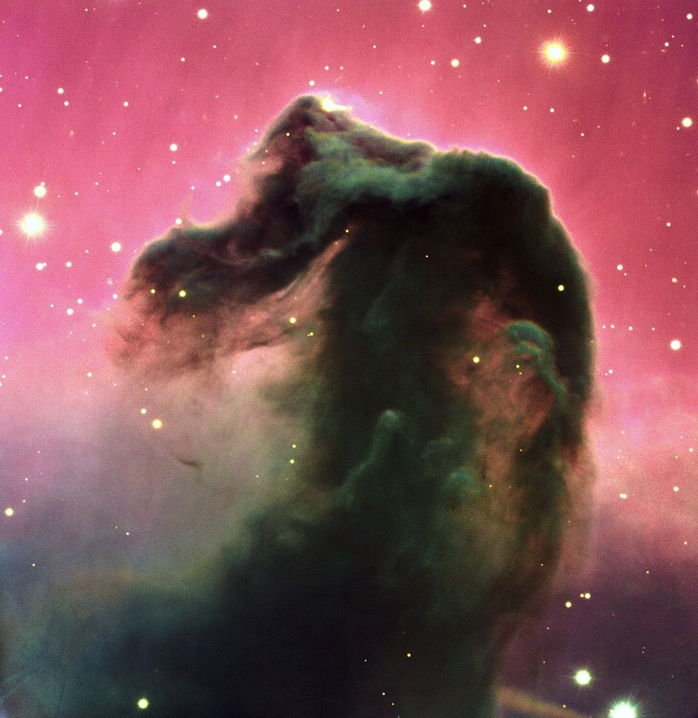 Space Photo Of The Day 2012 Horsehead Nebula Nebula Hubble Space Telescope