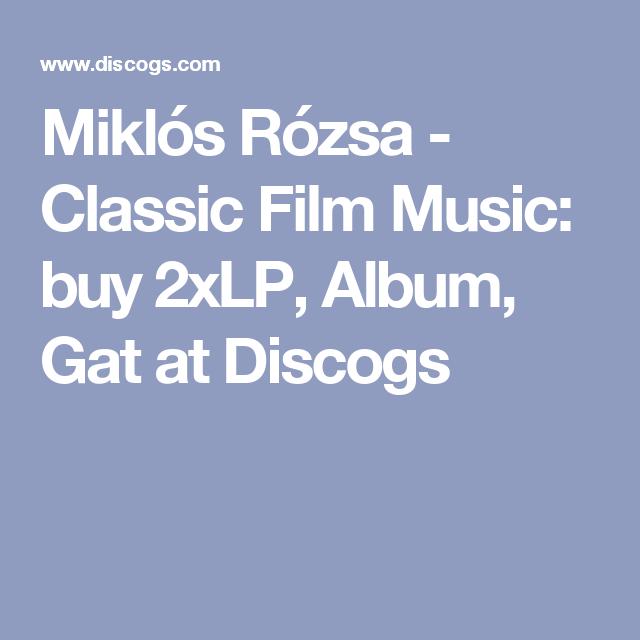 Miklós Rózsa - Classic Film Music: buy 2xLP, Album, Gat at Discogs