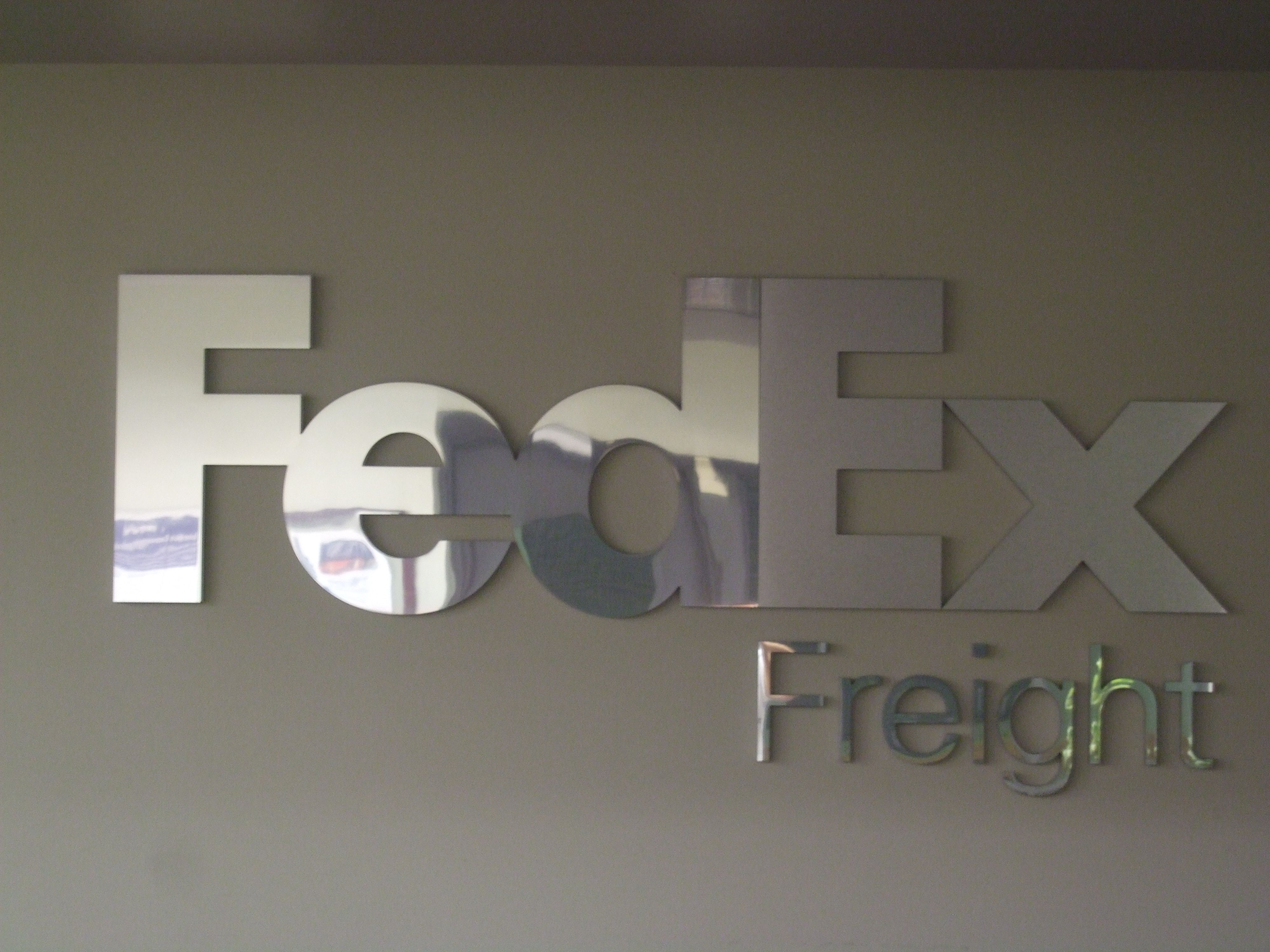 FedEx Freight logo at Wilson Avenue Home decor decals