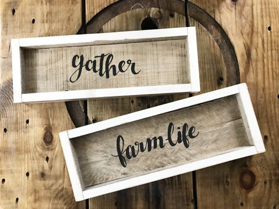 Reclaimed Wood Signs Home Decor And Wall Hangings Hand Painted Fascinating Hand Painted Wood Signs Home Decor