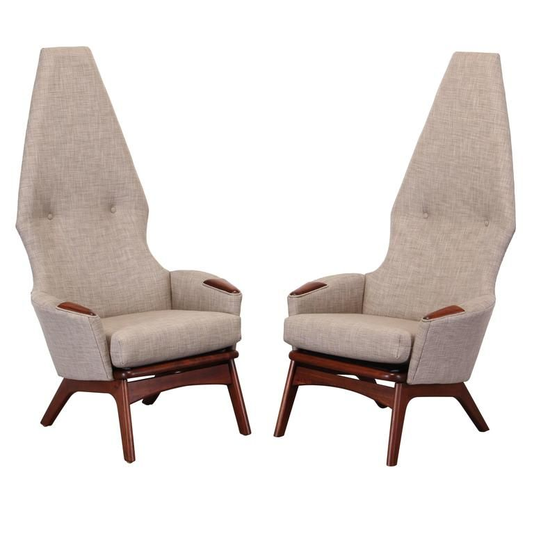 Prime Pair Of Adrian Pearsall Lounge Chairs Craft Associates Camellatalisay Diy Chair Ideas Camellatalisaycom