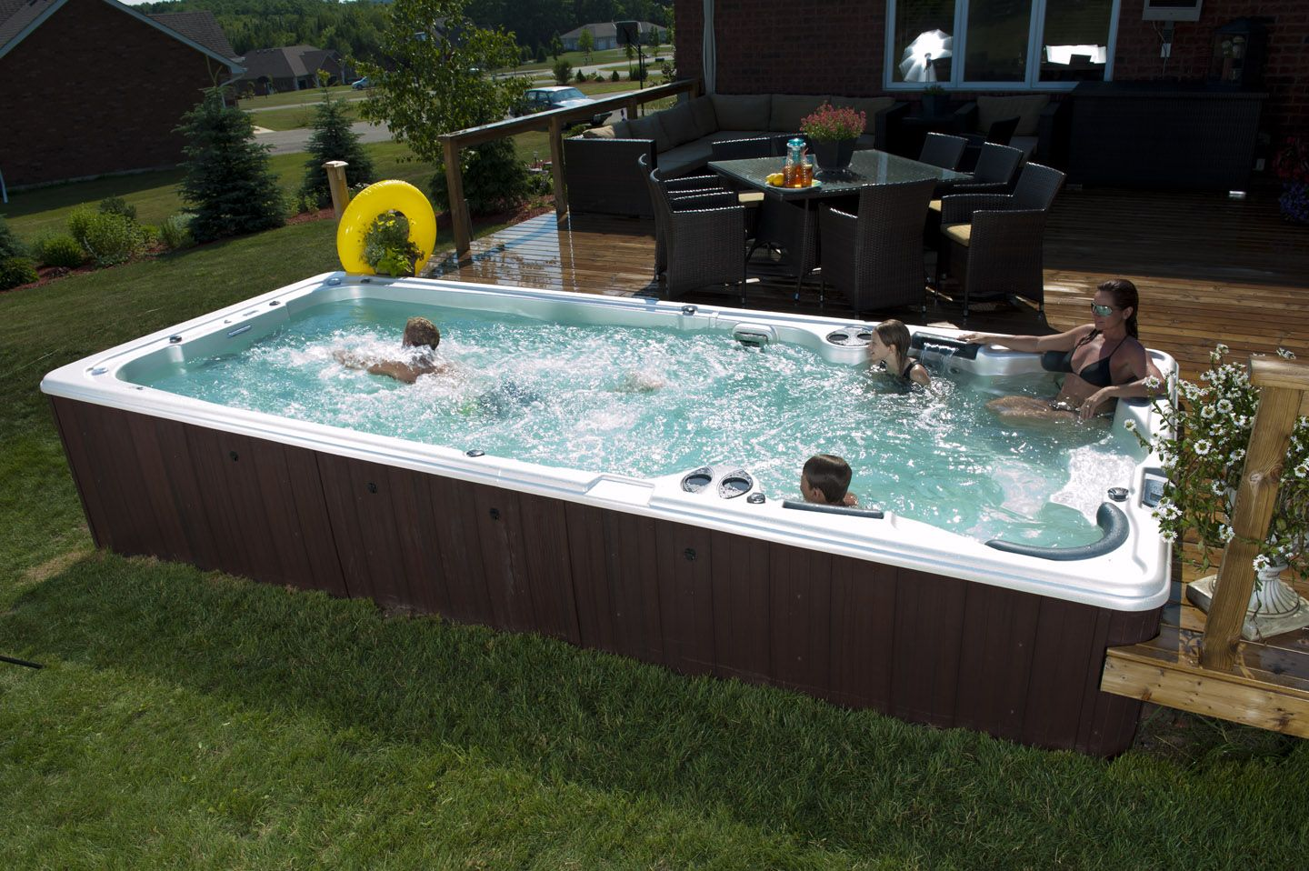 Image result for large hot tubs | ~NEW HOME | Pinterest | Hot tubs ...