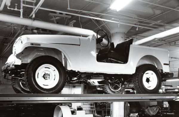 OG   Jeep CJ-5.5   It was the project name for the Jeep you now know