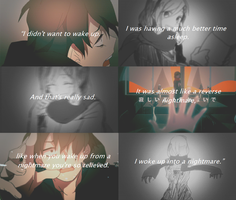 Anime Sad Girl Quotes Pics: Sad Anime Quotes About Life
