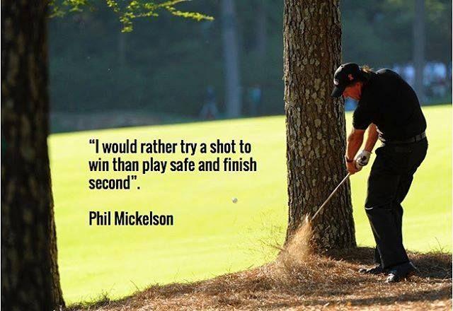 Like if you agree with Phil!   Rock Bottom Golf #RockBottomGolf
