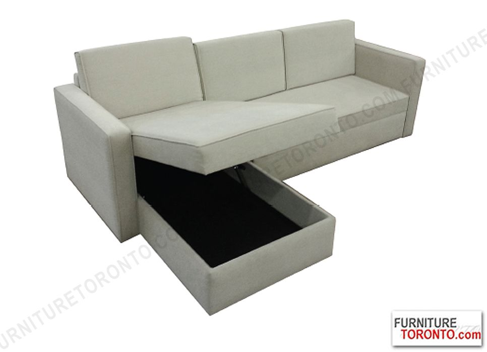 Condo Size Sectional Sofa With Storage 1599 Now On Furniture Toronto