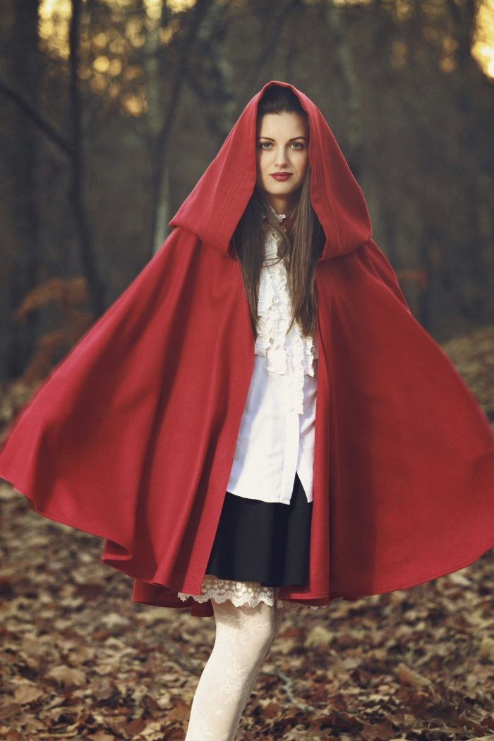 How To Make A Little Red Riding Hood Costume Ehow Uk 外套 In