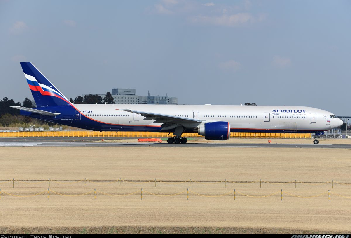 Su263 Departed To Moscow Svo Aeroflot Introduced 777 300er To The