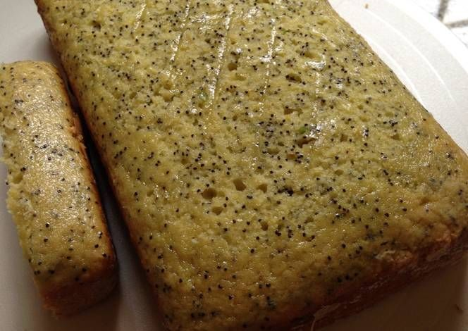 Two Lemon Poppy Loaves For You Recipe -  Yummy this dish is very delicous. Let's make Two Lemon Poppy Loaves For You in your home!