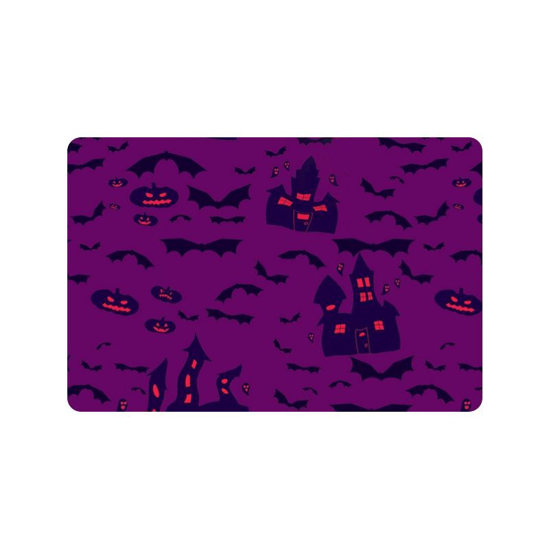 "Haunted Houses Doormat 23.6"" x 15.7""(Small)"