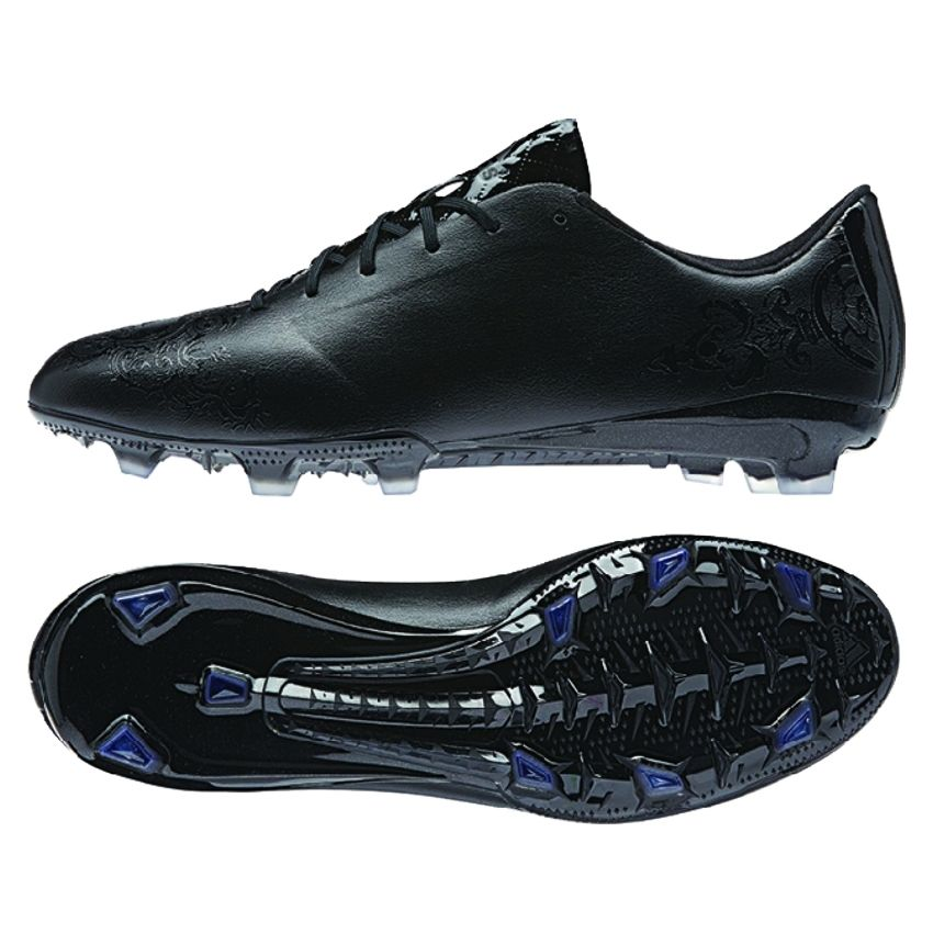 Adidas F50 adizero Knight Pack TRX FG Soccer Cleats (Black)
