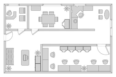 Gambar Sketsa Tata Ruang Kantor Yang Nyaman Dizeen Denah Lantai Penataan Ruang Ruangan