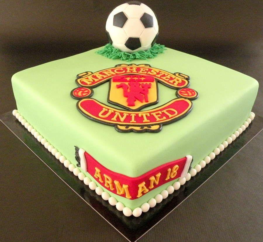 Manchester United Cake Sport Cakes Manchester United Cake Photo Cake