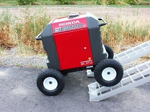 This versatile all terrain wheel kit cart fits the honda eu3000is this versatile all terrain wheel kit cart fits the honda eu3000is generator and its knobby fandeluxe Gallery