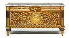 838/253 - A fine Louis XVI style commode á vantaux. Late 19th century. Bruun Rasmussen- fine art auction. Denmark.