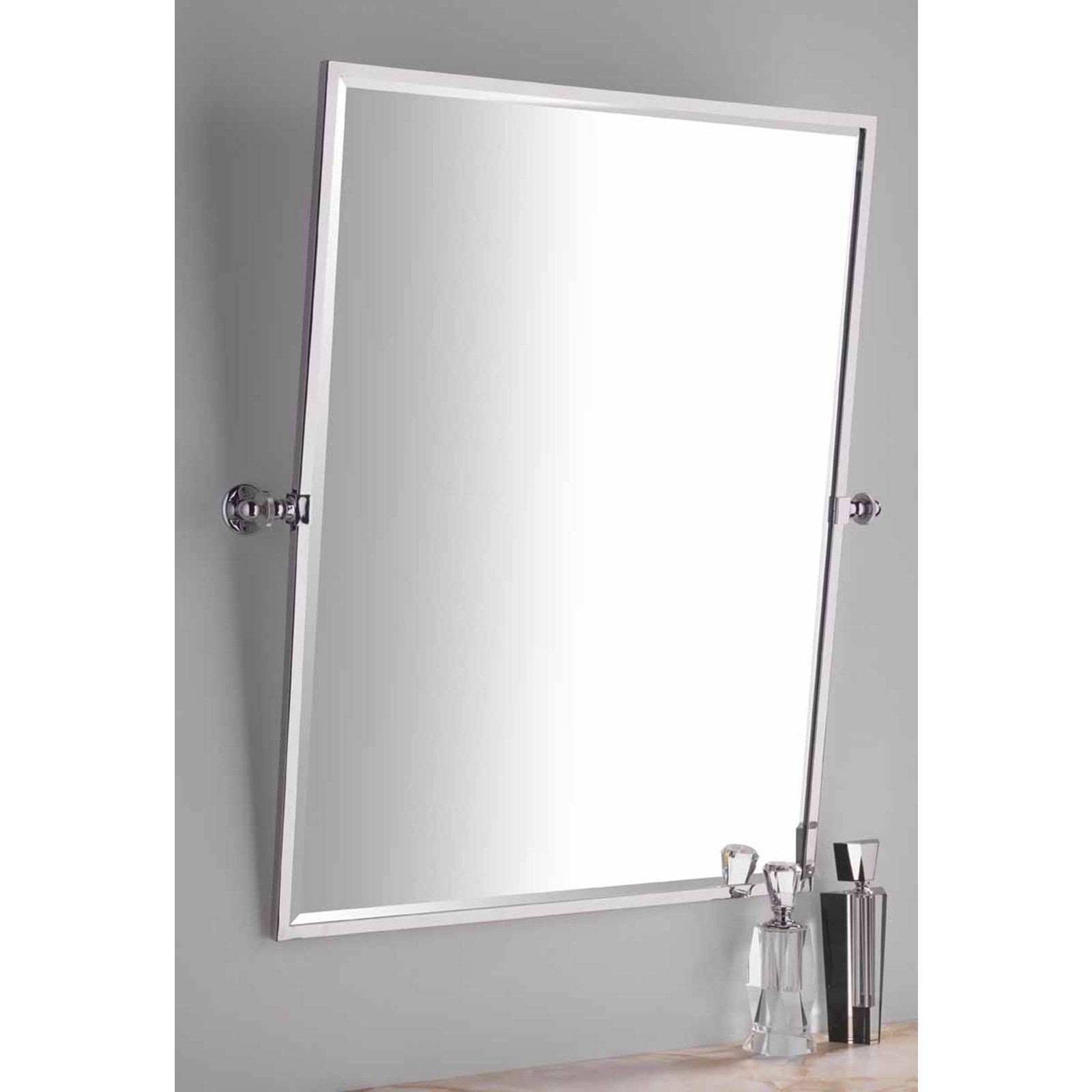 Rectangle Chrome Bathroom Mirror   http://drrw.us   Pinterest ...