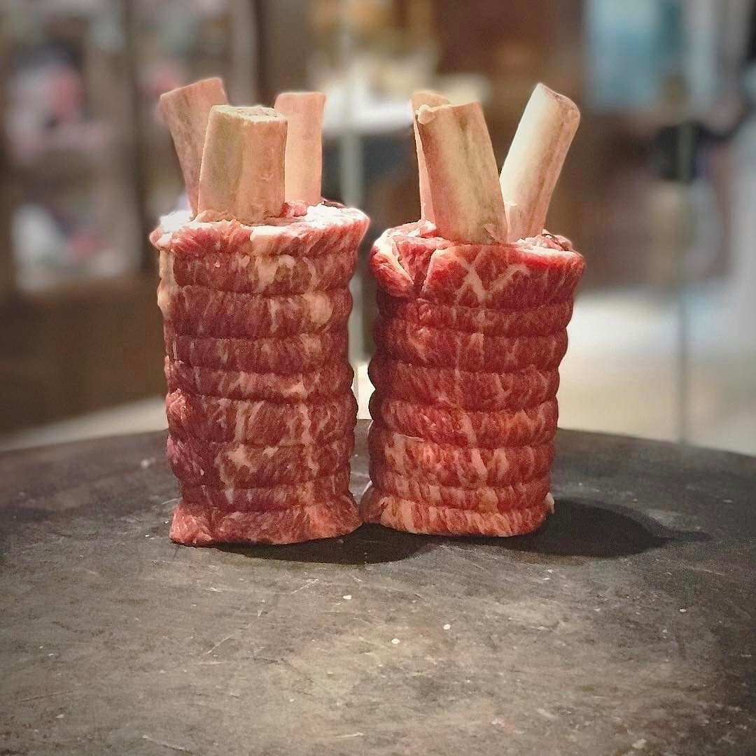 These Look Like Mini Meat Grenades They Re Actually Short Ribs Food Art Shout Out To Darren Orourke Salt Pepper St Short Ribs Meat Love Food