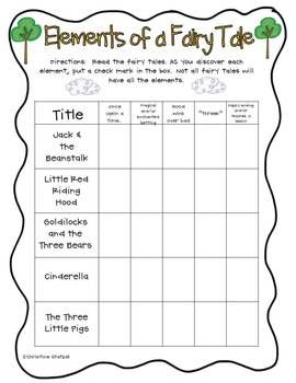 fun with fairy tales common core aligned literacy. Black Bedroom Furniture Sets. Home Design Ideas
