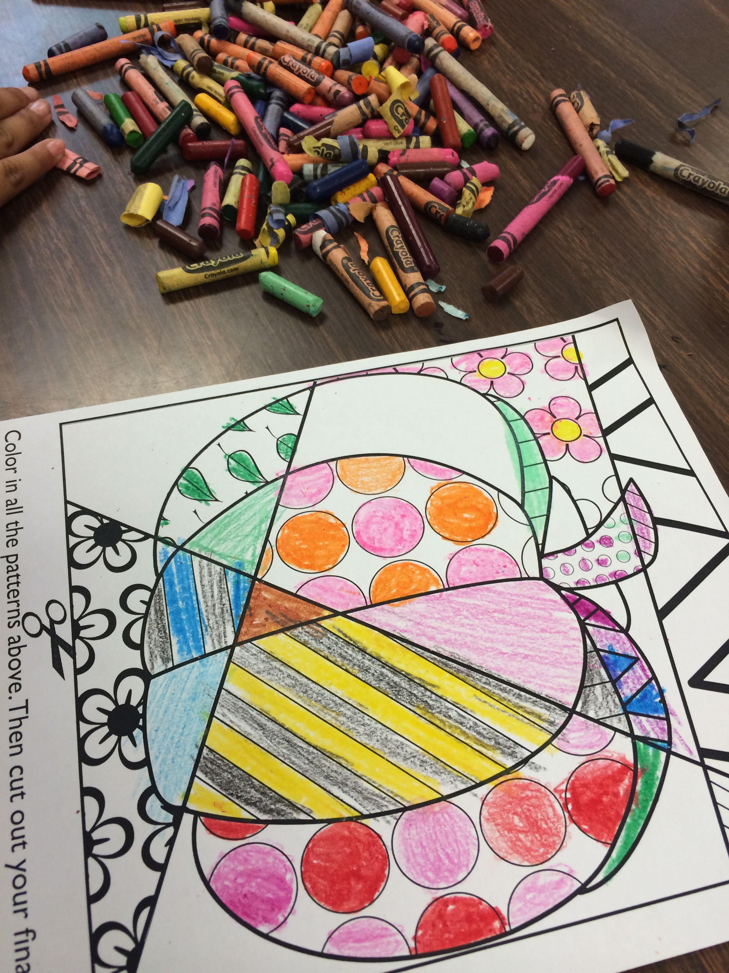 Crayola Pop Art Coloring Pages