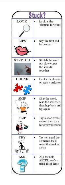 The Island Special Education Instruction Strategy Bookmark Ela