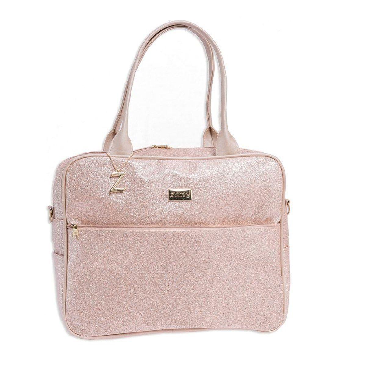 Bolsa de maternidad Baby Star Glitter Pink G