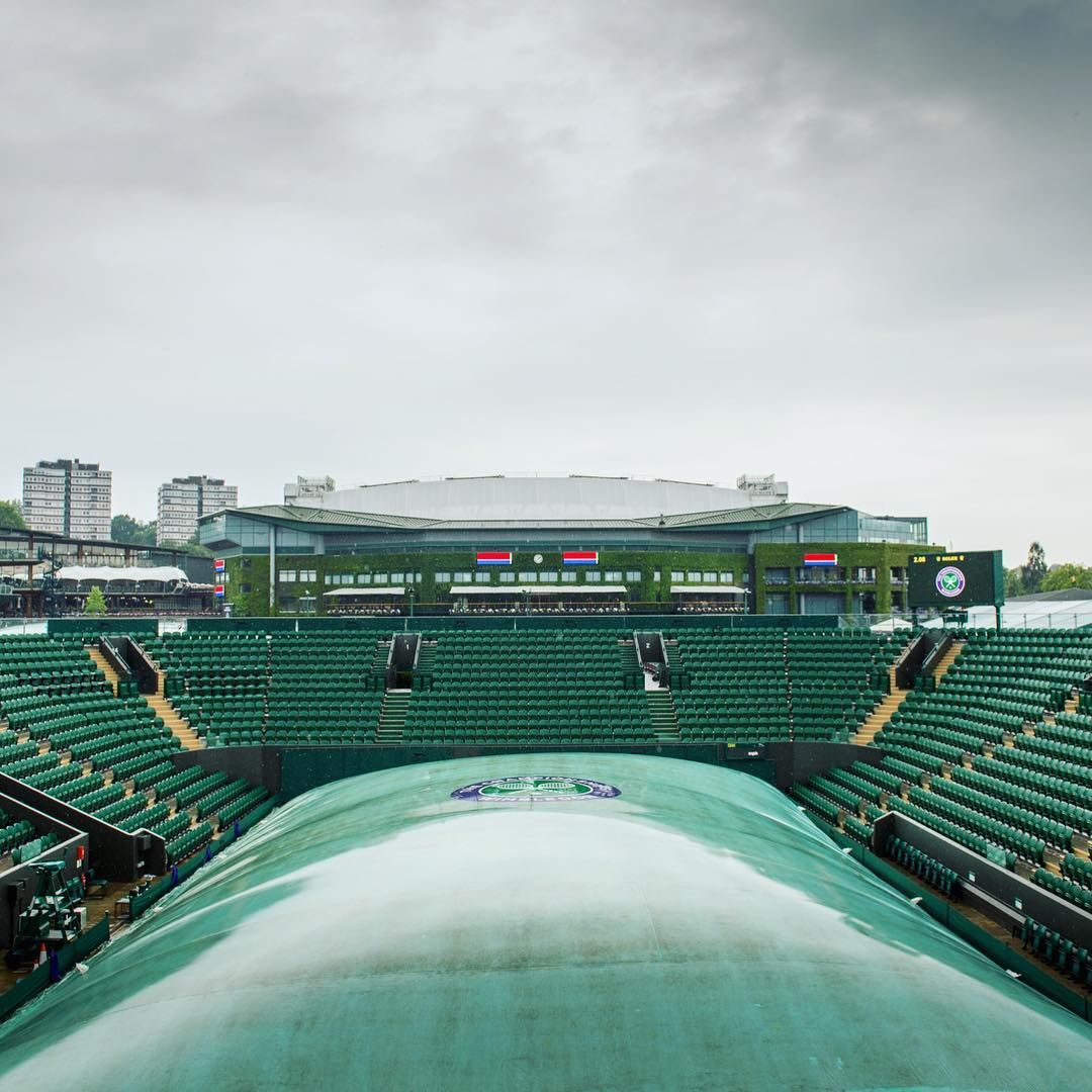 Rain Rain Go Away Wimbledon Weather Clouds