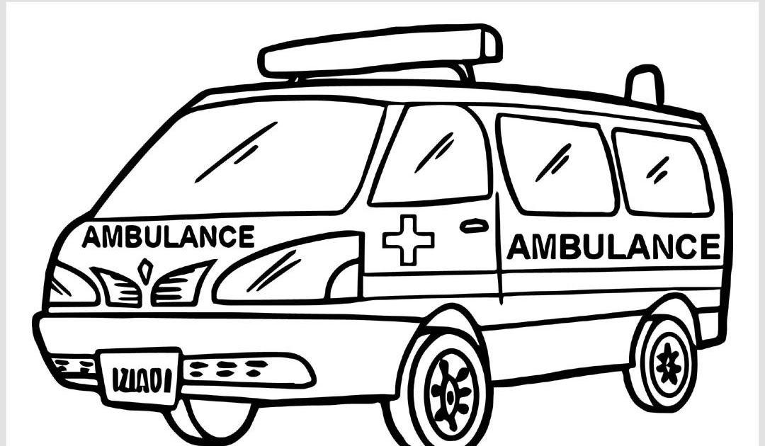 Gambar Mobil Ambulance Cara Menggambar Dan Mewarnai Gambar Mobil Ambulancea Untuk Anak Anak Ambulans Menggunakan Buku Mewarnai Mobil Polisi Halaman Mewarnai