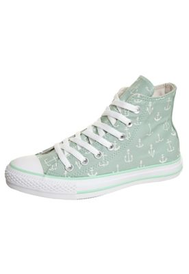 Chuck Taylor Anchor Hi green