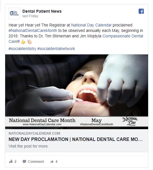 May Is National Dental Care Month! Dental care, Dental