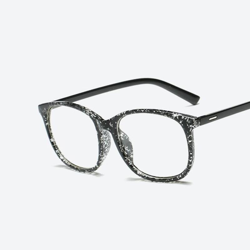 Retro Glasses Transparent Square Optical Eyeglasses Frames Women Brand Designer Clear Fashion Fake Glasses Large Eyewear Frames In 2020 Retro Eye Glasses Eyeglass Frames For Men