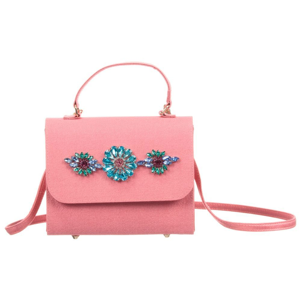 65856927bc brand Girls Pink Handbag (16cm) at Childrensalon.com