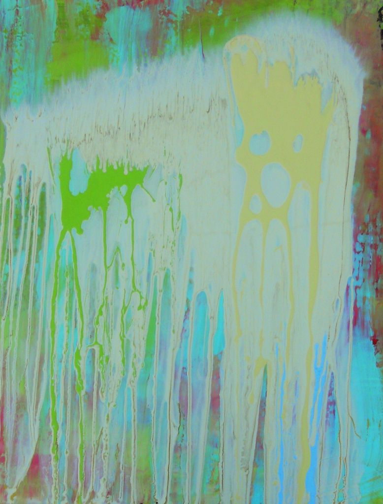 """Key Lime"" 24x32""  has made her home in Mobile, AL...  fitting!"