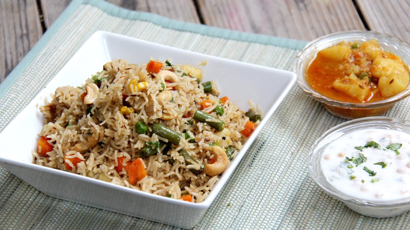 vegetable pulao recipe   indian vegetarian lunch, dinner & lunch box