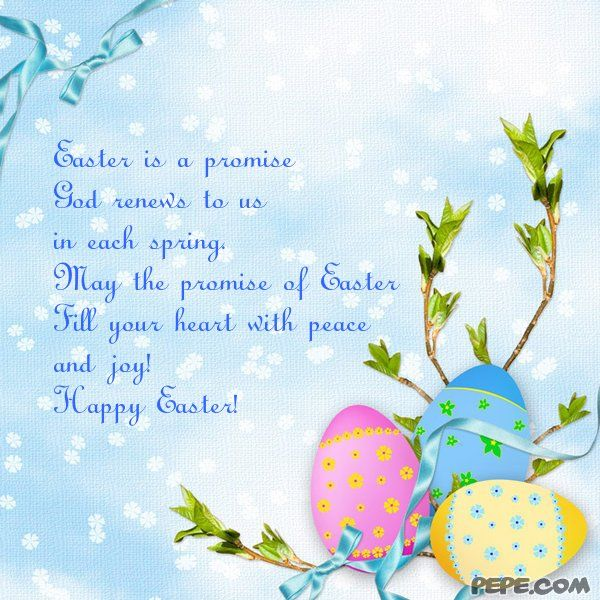 Easter Is Decorated With Love And Peace!