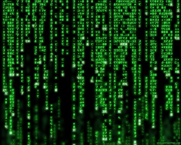 The classic Matrix image (With images) Code wallpaper