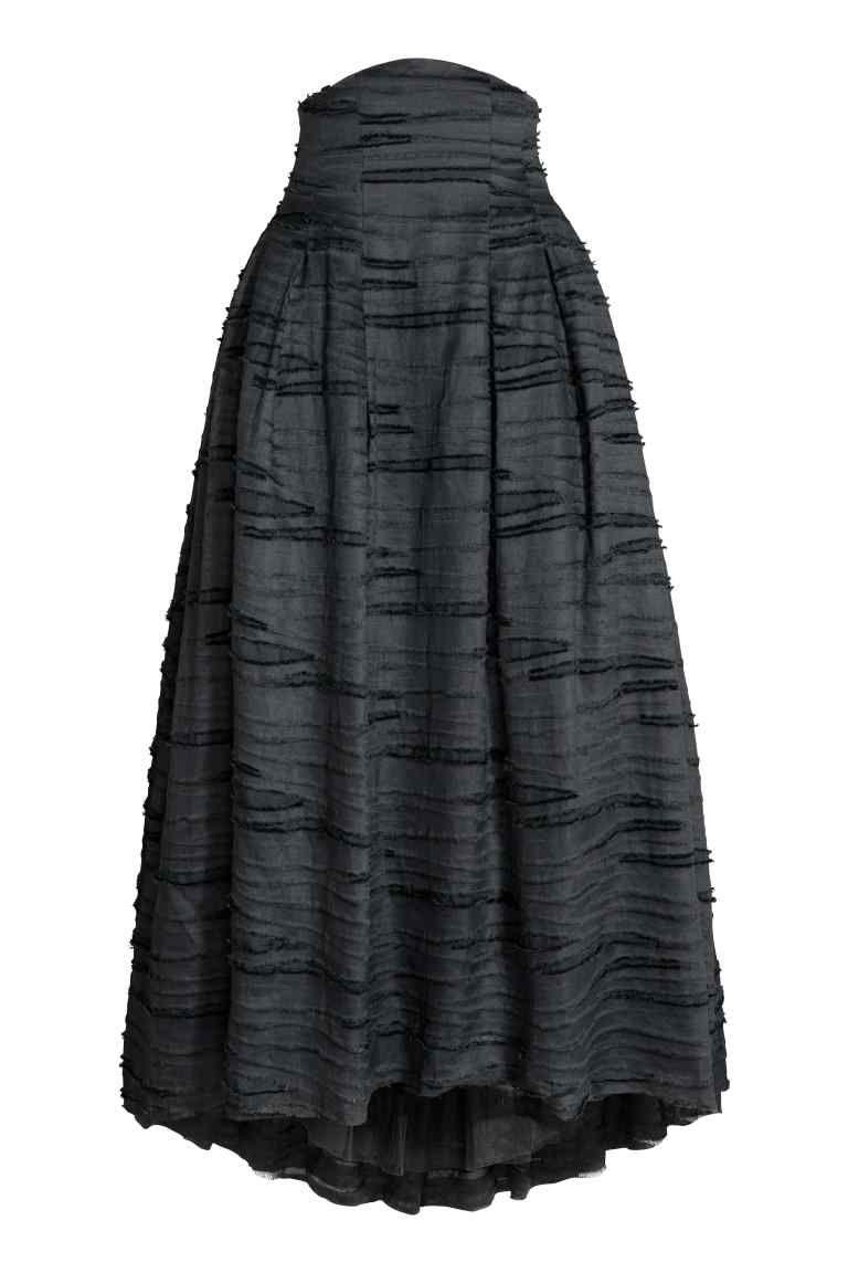 c9e7554acb Falda larga en lino y seda en 2019 | I want it! | Faldas largas ...