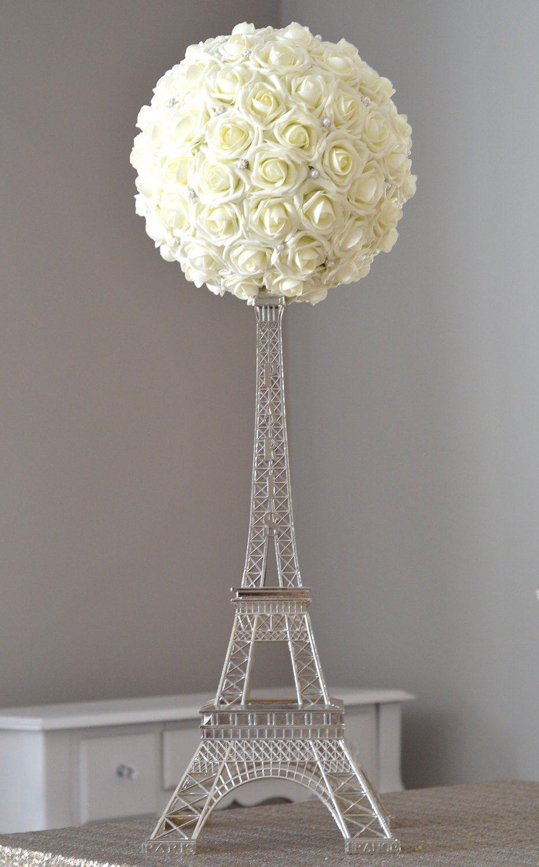 Eiffel Tower Centerpiece Set Parisians Theme Decor Paris Etsy In 2021 Eiffel Tower Centerpiece Parisian Theme Tower Centerpiece