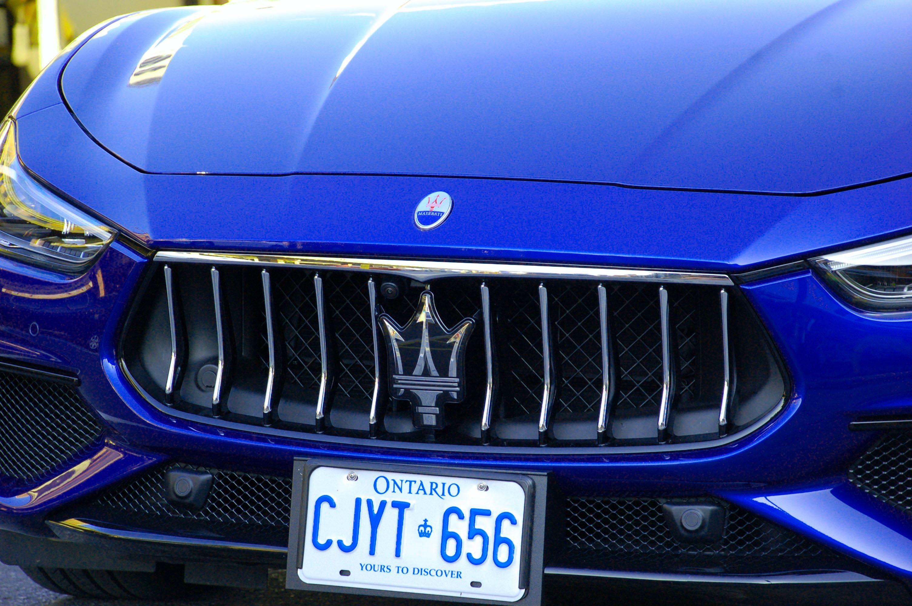 Blue Maserati vehicle Cars in 2020 Maserati, Vehicles