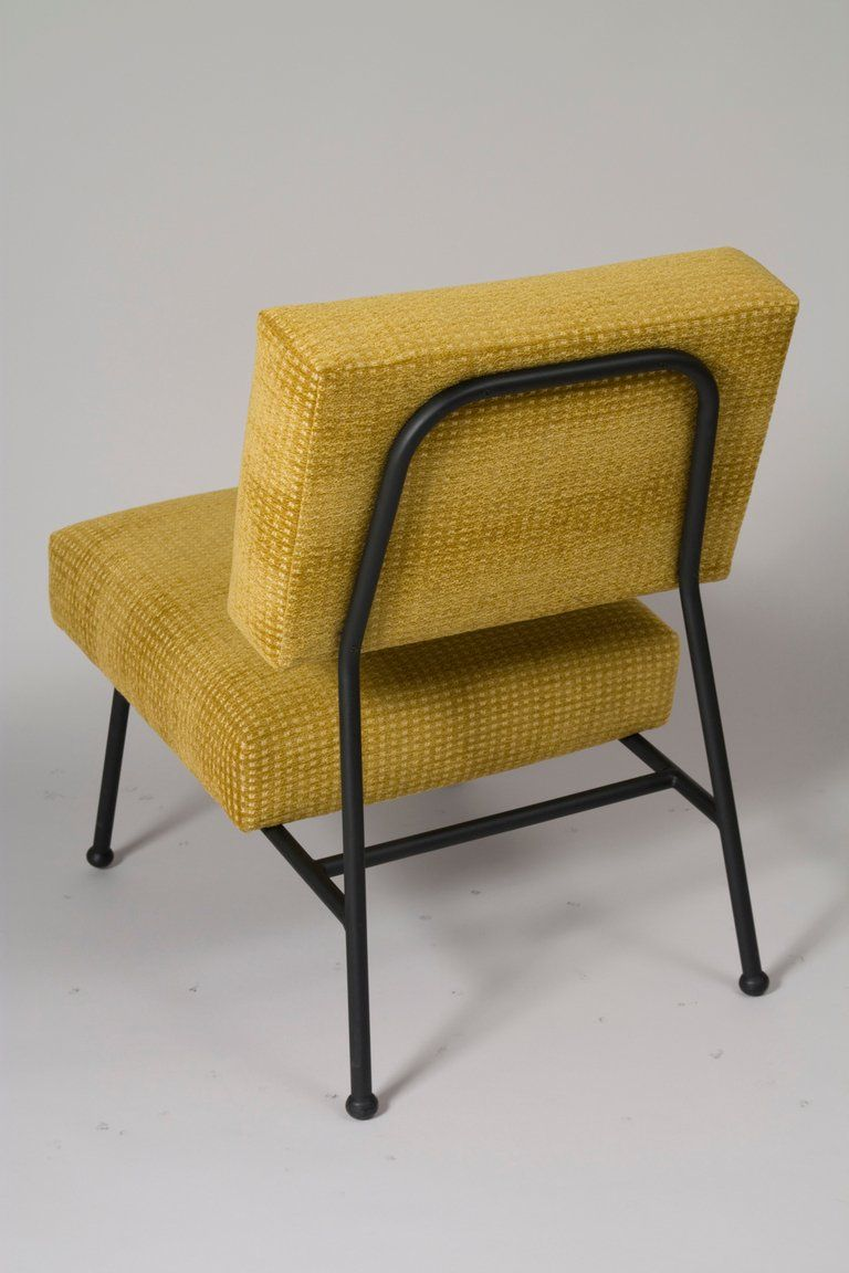 Fine Pair Of French Modern Chairs By Pierre Guariche At 1Stdibs Theyellowbook Wood Chair Design Ideas Theyellowbookinfo