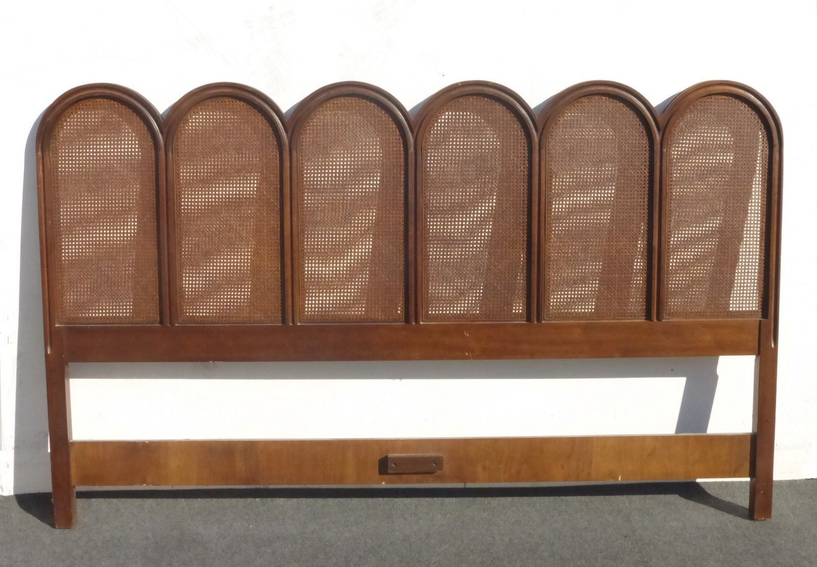 Vintage French Provincial Cane King Headboard By Drexel Heritage Ebay King Headboard French Provincial French Vintage