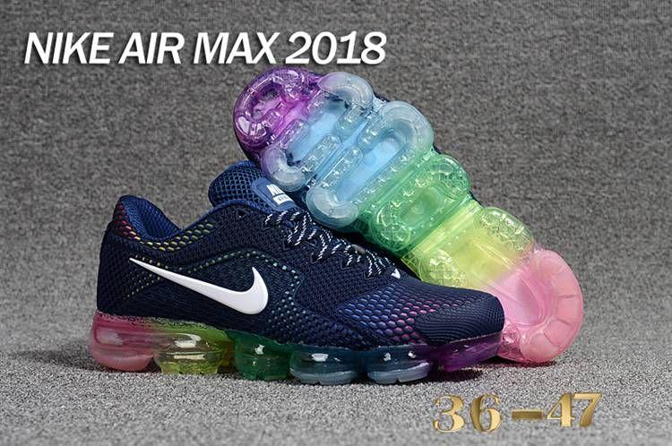 6db1c6630df0 Nike 2018 KPU +5 Nike Air Vapor MAX 2018 +5 KPU Women Men Navy ...
