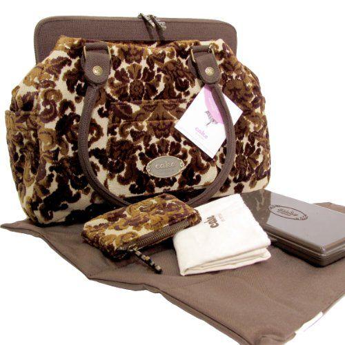 Ralph Lauren bag Cake   ... : Cake Cosmopolitan Carryall Tweed – Chocolate Decadence Diaper Bag