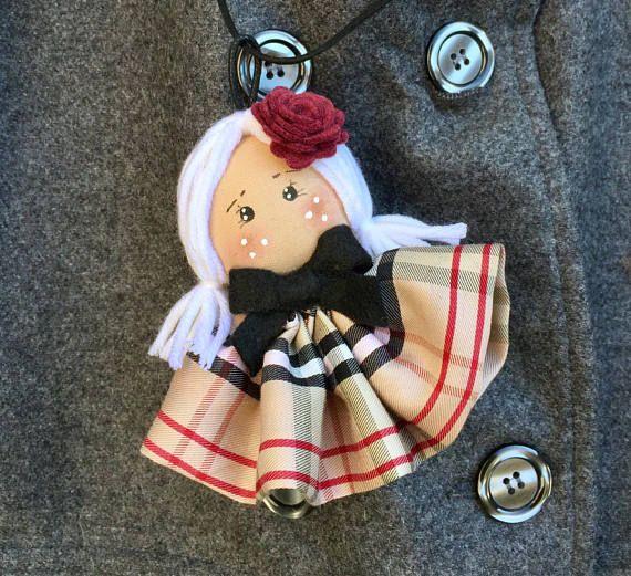 seleziona per ultimo migliore selezione di doppio coupon Pendente bambolina per collana bambola | wonderland ...